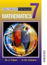 New National Framework Mathematics 7 Core Pupil's Book by K. M. Vickers