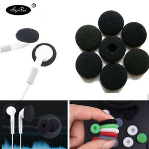 Headphones over ear lobe - foam earbud covers airpods