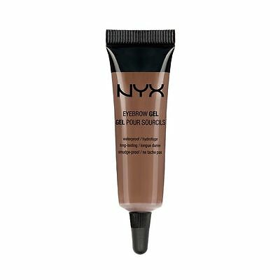 NYX Waterproof Eyebrow Gel - CHOCOLATE, EBG02 (ALL FREE SHIPPING)