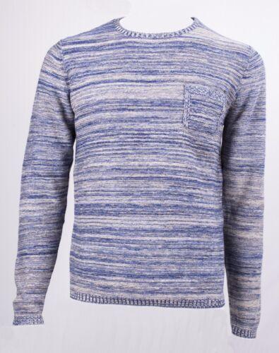 Multiples Coton Bleue Fil Couleur Markup Ronde Encolure 100 Jersey En qxTHwX7af
