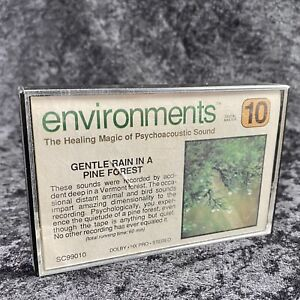 Environments The Healing Magic Of Psychoacoustic Sound Cassette 1987