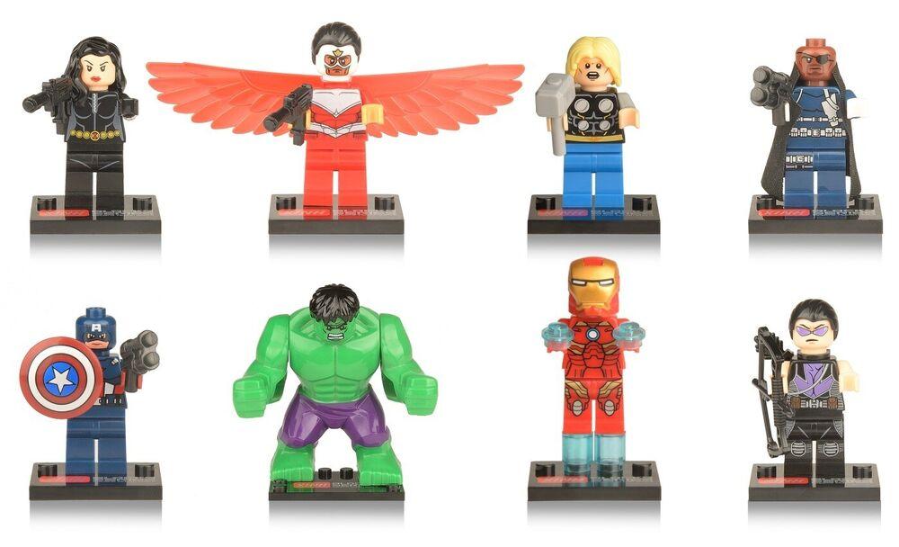 DC Comics Batman Mighty minis Collection Figurines Super Héros aveugle Sacs