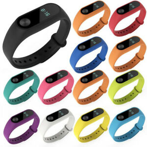 For-Mi-Band-2-3-4-Wrist-Strap-Silicone-Smart-Bracelet-Colorful-Wristband