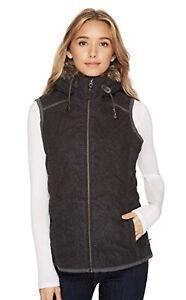 00 Large Nwt Grey Calla Women's Msrp 139 Vest Perfect Prana qBgqFz