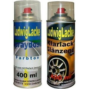 Spray-Vernis-Peinture-de-Voiture-400ml-pour-Renault-Vertigo-901-Couleur-Laque
