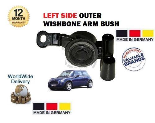 Per BMW MINI ONE COOPER S WORKS 2001 /> ESTERNO SINISTRO FORCELLA SOSPENSIONE ARM BUSH