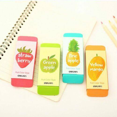 Fruit Color Oversized Correction Eraser Large Student Rubber Learning Stationery