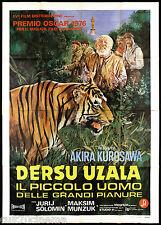 DERSU UZALA MANIFESTO CINEMA AKIRA KUROSAWA MAKSIM MUNZUK 1975 MOVIE POSTER 4F