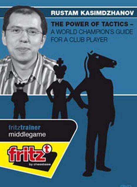 ChessBase Kasimdzhanov Power of Tactics A World Champion's Guide for Club Player