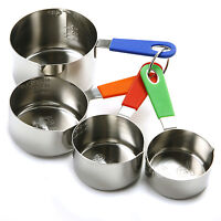 Norpro 3101 Stainless Steel Measuring Cups Set Of 4 on sale