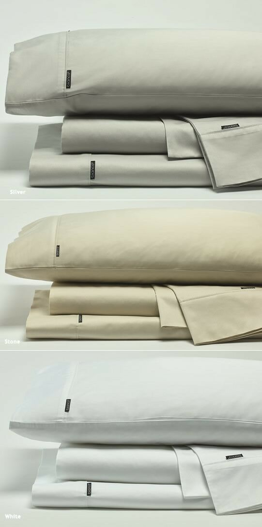 Bianca Kingston 500 Thread Count Cotton Sateen Sheet Set- All Dimensiones