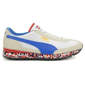 Details about PUMA Men's Jamming Easy Rider Whisper White/Blue Shoes  36783204 NEW!