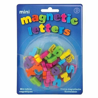 MINI MAGNETIC ALPHABET LETTERS TOY BOY GIRL GIFT BIRTHDAY PARTY BAG FILLER