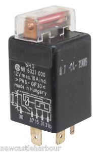 mk1 golf fuse box upgrade volvo 240 fuse box upgrade vw golf mk1 gti fuel pump relay with fuse > 1982 + rabbit injection genuine vw | ebay