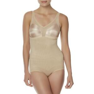 2af7a6081 Fundamentals Women s Body Briefer tummy hips waist slimmer Beige ...