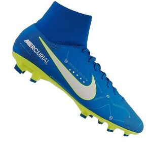 8e74d237e Nike Mercurial Victory VI DF NJR FG Herren blau gelb Fussballschuhe ...