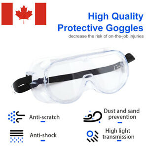 Eye-Protective-Glasses-Lab-Outdoor-Work-Anti-Fog-Clear-Factory-Goggles-Safety