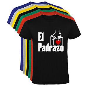 Camiseta-El-Padrazo-Dia-del-Padre-El-Padrino-hombre-varias-tallas-y-colores