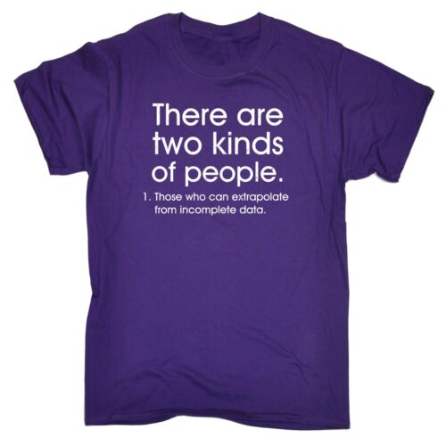 Men/'s There Are Two Kinds Of People Funny Joke Geek Nerd Smart T-SHIRT Birthday