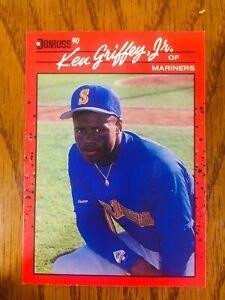 1990 Donruss Ken Griffey Jr HOF #365 ERROR CARD. No Period After Inc. VERY RARE!