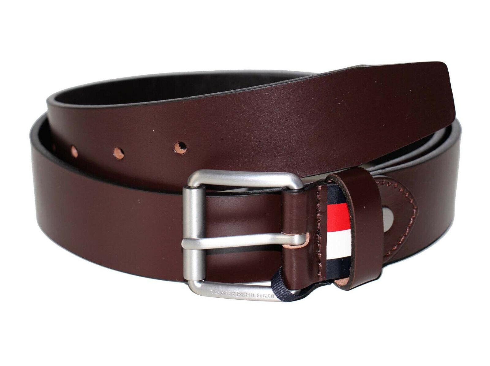 Tommy Hilfiger Downtown Roller Buckle Belt 3,5 Adj Leather Belt