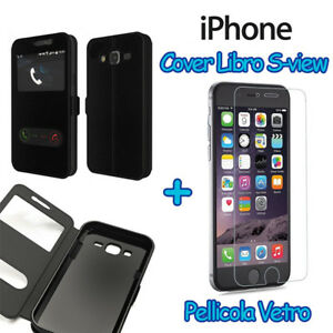 CUSTODIA-MAGNETICA-COVER-LIBRO-FLIP-VIEW-PER-TUTTI-GLI-IPHONE