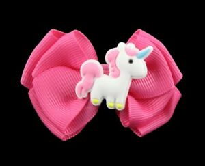 New Unicorn Bow Assorted Colours
