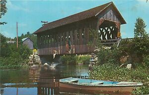 Waterfalls and Covered Bridges NH Cranmore Mountain Lodge
