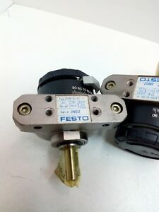 SEMI ROTARY ACTUATOR ADJUSTABLE FESTO DSR-10-180-P SERIE JN02 NEW!!