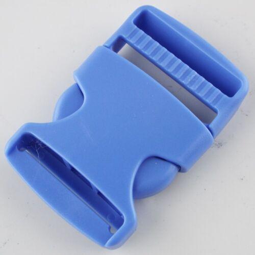22 COLOUR 30mm Plastic Side Release Clip Buckle Webbing Bag Strap Buy 1 2 4 or 8