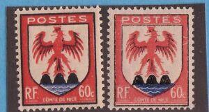 VARIETE-N-758-Orange-rouge-le-normal-Neufs