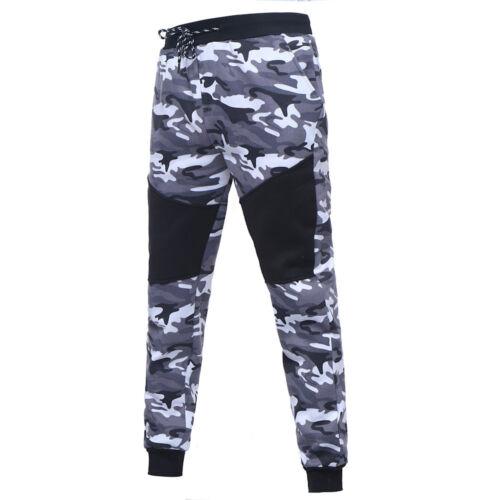 Men/'s Long Sleeve Camouflage Sweatshirt Hoodies Tops+Pants Tracksuit Sports Suit