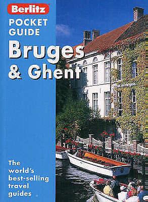 1 of 1 - Bruges and Ghent Berlitz Pocket Guide by Brigitte Lee, Jack Messenger...