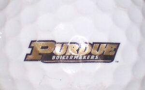 (1) Purdue University Chaudronniers Ncaa Logo Balle De Golf-afficher Le Titre D'origine Diversifié Dans L'Emballage