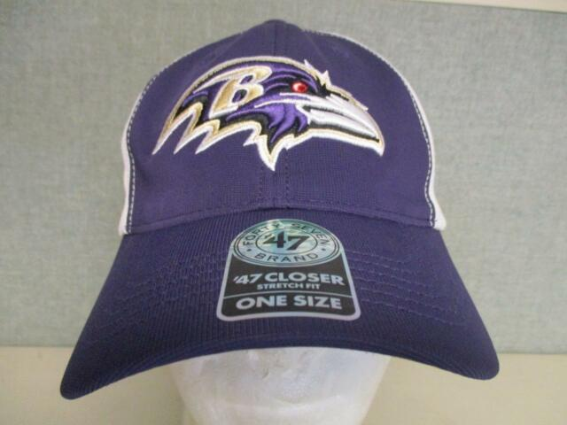 d04263d71a29db New Baltimore Ravens Mens Size OSFA '47 Brand Stretch Fit Cap Hat $28