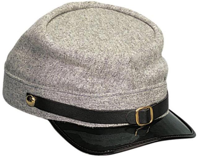 a69fc743f30 Confederate Army Civil War Kepi Grey Hat Wool Blend Rothco 5344 for ...