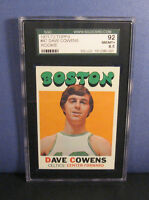 Dave Cowens Sgc 8.5/92 1971-72 Topps 47 Rookie Rc Card Boston Celtics - 8 9