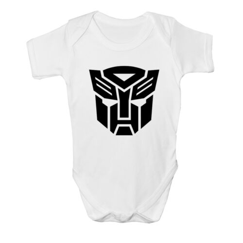 New Transformers Baby vest Cute Funny Bodysuit Romper Gift Prime Christening