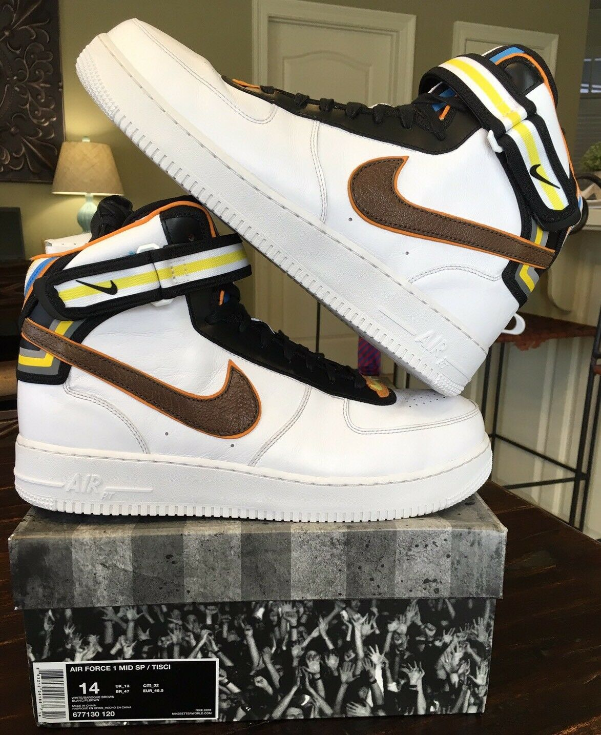 Nike Air Force 1 Mid White Riccardo Tisci Givenchy SP Yeezy Lot Jordan One 2 3 4
