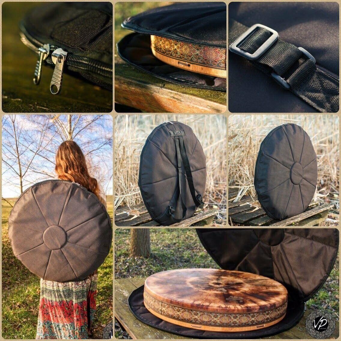 20-22' Water-resistant drum case, protection bag, water-resistant backpack