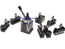 Cxa Wedge Type Tool Post For Lathe 13 18 250 333 Plus 2 Extra Tool Holders