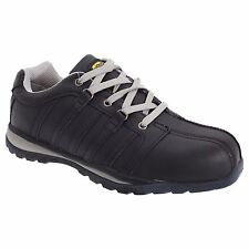 Grafters Composite Non Metal Safety Toe Shoe Unisex Black Boots Trainers Size 7