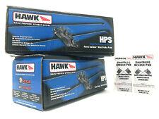 Hawk HPS Front Rear Brake Pads Fits Nissan Maxima Sentra SE-R Non Brembo