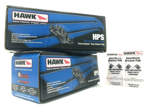 Hawk HPS Front Rear Performance Brake Pads 2002-2005 Porsche 911 GT2 GT3 996