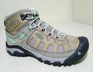 ecb66f715b6 Details about KEEN Outdoor 1018589 Women's Targhee III Vent Mid Boots Fumo  Summer Hiking Shoes