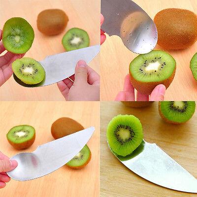 High Quality Stainless steel spoon kiwi kiwi fruit knife dig spoon Scoop Peeler