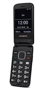 Swisstone BBM 680 Klapp Mobiltelefon schwarz Handy Klapphandy Telefon Klapptelef