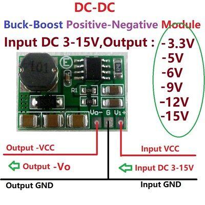 to 12V ARDUINO AL618 5W DC-DC STEP UP BOOST CONVERTER 3-6V eg. 3.3V 3.7V 5V 6V
