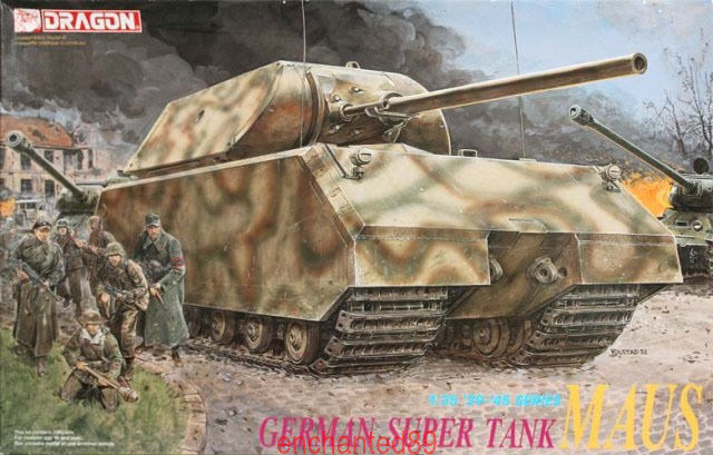 Dragon 1 35 6007 German Super Tank  Maus  Model Kits