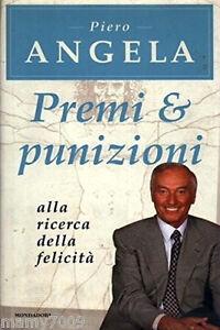 LIBRO-Premi-E-Punizioni-Piero-Angela-Mondadori-I-EDIZIONE-2000